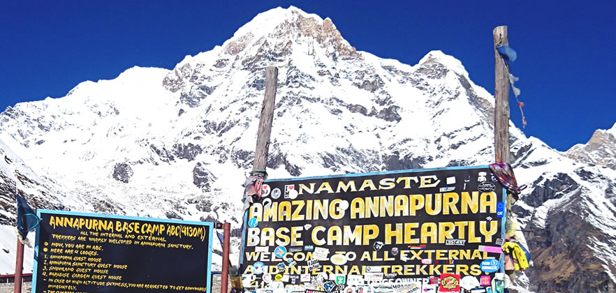 annapurna base camp express trek