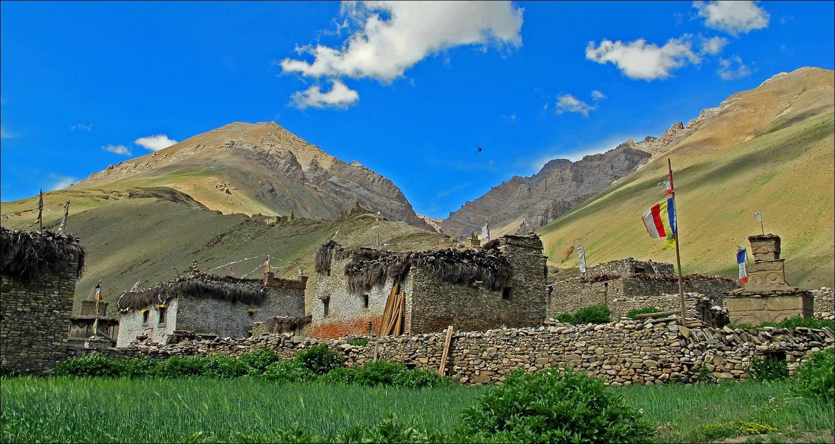 TRekking in Dolpo- the Dho Tarap Valley