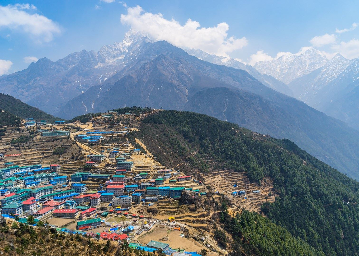 Everest region Trekking- Namche Bazaar