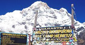 annapurna base camp express trek