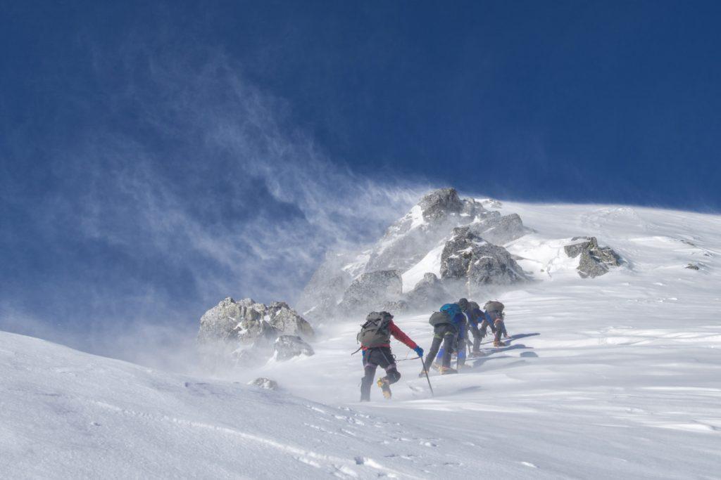 Mera and Island peak Climbing via Amphu Laptsa Pass