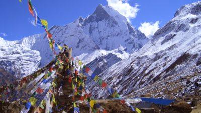 Trekking in Annapurna region